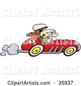 Vector Driving Clipart by Gnurf