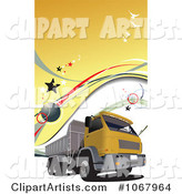 Vector Dump Truck Clipart by Leonid