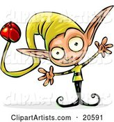 Vector Elf Clipart by Tonis Pan
