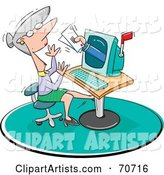 Vector Email Clipart by Jtoons
