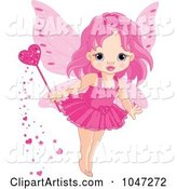 Vector Fairy Clipart by Pushkin