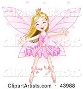 Vector Fairy Princess Clipart by Pushkin