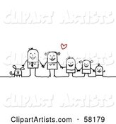 Vector Family Clipart by NL Shop