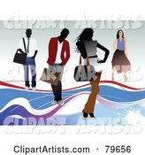 Vector Fashion Clipart by Leonid