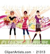Vector Fashion Clipart by OnFocusMedia