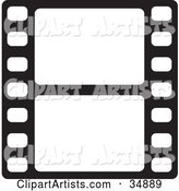 Vector Film Strip Clipart by Alexia Lougiaki