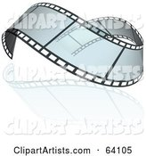 Vector Film Strip Clipart by Dero