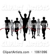Vector Finish Line Clipart by KJ Pargeter
