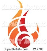 Vector Fire Clipart by Cidepix