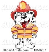 Vector Firefighter Clipart by Toons4Biz