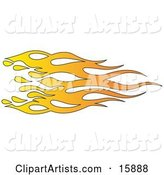Vector Flames Clipart by Andy Nortnik