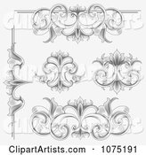 Vector Flourish Clipart by Vectorace