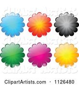 Vector Flowers Clipart by Andrei Marincas