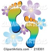 Vector Footprints Clipart by Rogue Design and Image