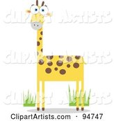 Vector Giraffe Clipart by Qiun