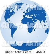 Vector Globe Clipart by Michael Schmeling