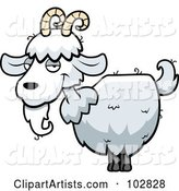 Vector Goat Clipart by Cory Thoman