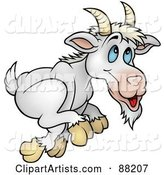 Vector Goat Clipart by Dero