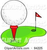 Vector Golf Clipart by Rogue Design and Image