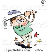 Vector Golfing Clipart by Gnurf
