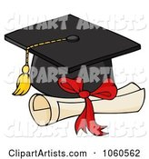 Vector Graduation Clipart by Hit Toon