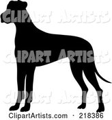 Vector Great Dane Clipart by Rogue Design and Image