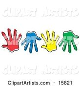 Vector Hands Clipart by Andy Nortnik