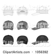Vector Hats Clipart by Vectorace