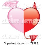 Vector Heart Clipart by Cidepix