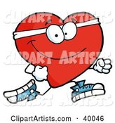 Vector Heart Clipart by Hit Toon
