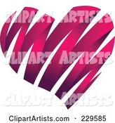 Vector Heart Clipart by Qiun