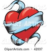 Vector Heart Clipart by Stockillustrations