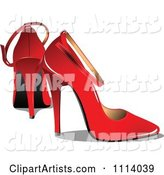 Vector Heels Clipart by Leonid