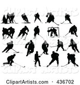 Vector Hockey Clipart by Leonid