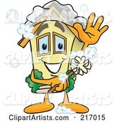 Vector Home Mascot Clipart by Toons4Biz