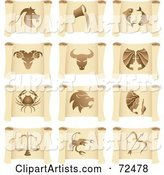Vector Horoscope Clipart by Cidepix