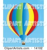 Vector Hot Air Balloon Clipart by Rasmussen Images