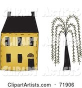 Vector House Clipart by Inkgraphics