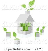 Vector House Clipart by Tonis Pan