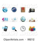 Vector Icons Clipart by Qiun