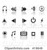 Vector Icons Clipart by Rasmussen Images