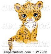 Vector Jaguar Clipart by Pushkin