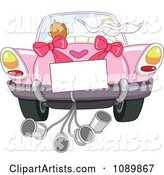 Vector Just Married Clipart by Yayayoyo