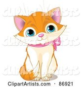 Vector Kitten Clipart by Pushkin