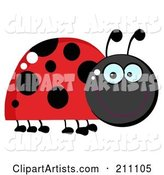 Vector Ladybug Clipart by Hit Toon