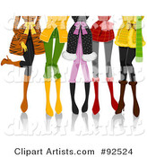 Vector Legs Clipart by BNP Design Studio