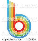 Vector Letter B Clipart by Andrei Marincas