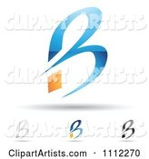 Vector Letter B Clipart by Cidepix