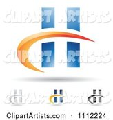 Vector Letter H Clipart by Cidepix