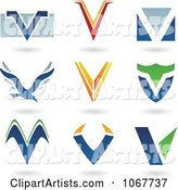 Vector Letter Logo Clipart by Cidepix